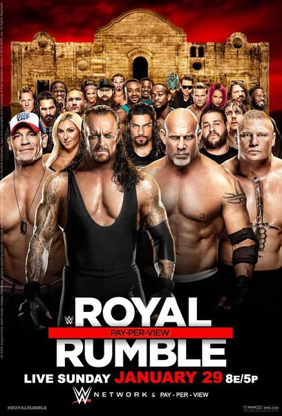 优酷vip会员看WWE Royal Rumble 2017